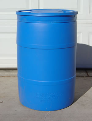30 Gallon Barrel Drum Plastic Barrels Plastic Drums