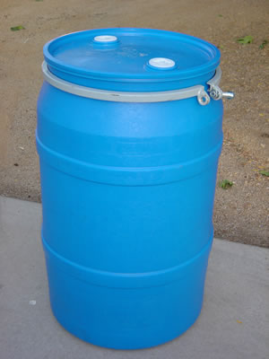 55 Gallon Barreldrum Open Top Plastic Barrels Plastic Drums